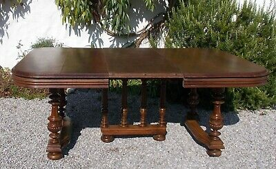 table,extending french mahogany antique dining table,