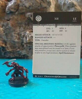 XILL  #39 D/&D Miniature Archfiends Series - HARD TO FIND and UNUSED!!