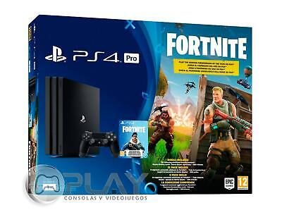 PS4 PRO 1Tb Pack Fortnite Consola Playstation 4 PRO