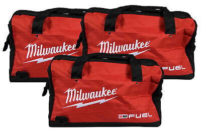 Milwaukee 16 inch Contractor Tool Bag 3 Pack. Durable, water-resistant design.