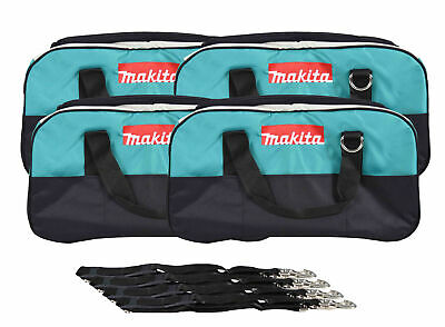 """22"""" Makita Bag 4 Pack. Durable handles and comes with clip on shoulder strap."""