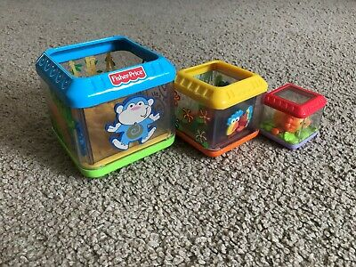 Fisher-Price Jungle Peek-a-Blocks