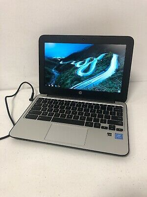 "HP Chromebook 11 G4 11.6"" Celeron N2840 2.16ghz 4gb RAM 16gb SSD Black"