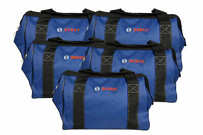 Bosch CW01 15inch Contractor Tool Bag with durable handles and zipper 5 Pack