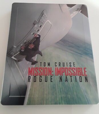 """Steelbook """" Mission Impossible Rogue Nation"""" édition Fnac."""