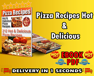 Pizza Recipes Hot & Delicious eBo0ok P.DF with Full Master Resell Rights