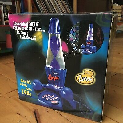 Retro Novelty Brand Lava Lamp Phone / Telephone - Excellent Condition Deadstock