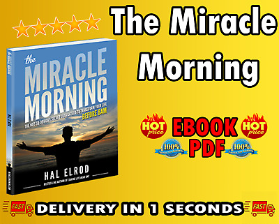 The Miracle Morning: By Hal Elrod (E-B0OOK) / P.DF