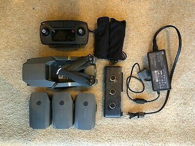 DJI Mavic Pro Quadcopter with Remote Controller, 3 batteries and ND Pack!