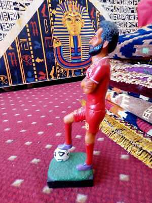 NEW Art of Egyptian Statue ( Mohamed Salah ) Football Antiques Liverpool Team