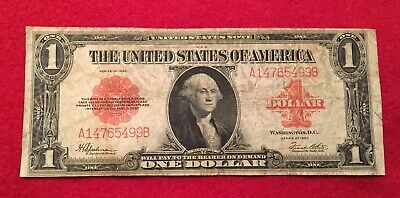 1923 $1 Red Seal