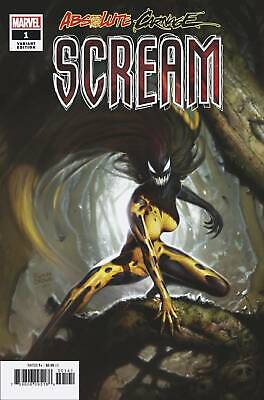 Absolute Carnage Scream #1 1:50 Brown Variant Marvel Comics Eb53