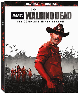 THE WALKING DEAD Season 9 Blu-ray New and Still-sealed