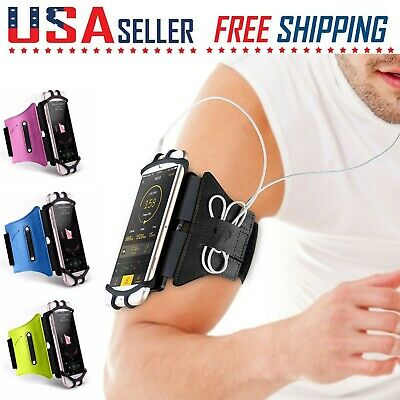 Cell Phone ArmBand Sports Running Jogging Workout Gym Holder iPhone Galaxy