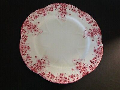 """Vintage Shelley China  Dainty Pink 8"""" Luncheon Plate VGC"""