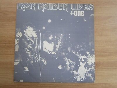 IRON MAIDEN - Live + One Korea LP