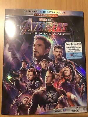 Avengers Endgame (Blu-Ray,Digital) Brand New Factory Sealed Ships Out Same Day
