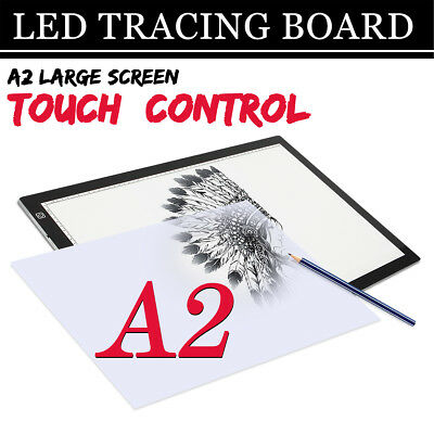A2 LED Drawing Board Light Box Art Tattoo Copy Drawing Pad Table Stencil NA