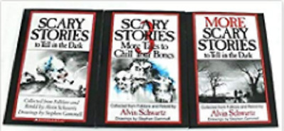 Scary Stories to Tell in the Dark Series; to in 3 (Book sets fo: More to in Dark