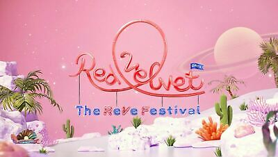 RED VELVET - The ReVe Festival Day 2 [Guide Book ver] CD+Folded Poster+Gift+Trac