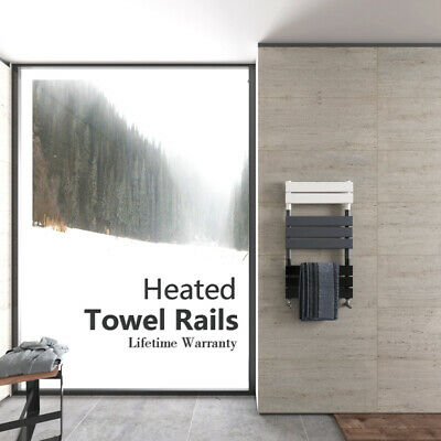 Modern Design Flat Panel Heated Towel Rails Bathroom Ladder Radiator