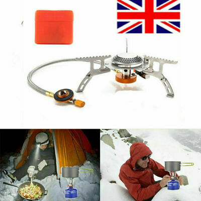 3500W Portable Camping Gas Cooker Cooking Stove Single Burner Butane BBQ Outdoor