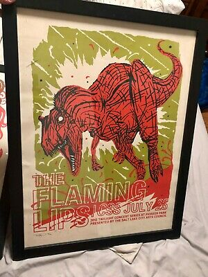 Flaming Lips Concert Poster - Furturtle - Limited Edition of 200