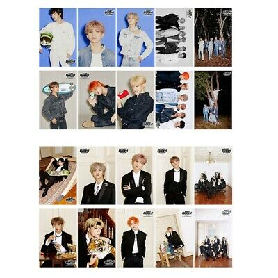 10x KPOP NCT DREAM [We Boom] New Album Photo Cards Crystal Card Stickers Awesome