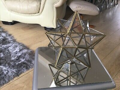 Vintage Art Deco Style Star shaped Ceiling light / lamp shade