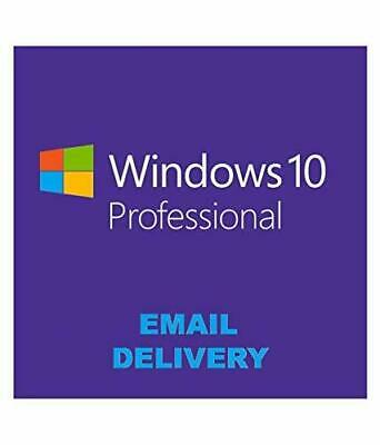 Microsoft Windows 10 Professional 32/64-bit Product Key