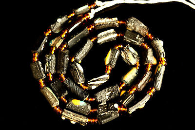 Ancient Roman Multi Color Glass Beads Found in Afghanitan #908