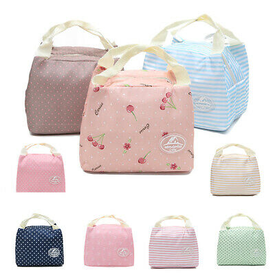 PERFECT GIFT FOR Women Girls Lunch Bag Reusable Insulated
