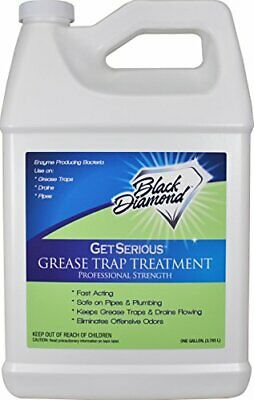 Black Diamond Stoneworks GET SERIOUS Grease Trap Treatment Commercial Enzyme Dra