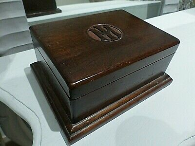 Antique Wood Church Collection - Jewellery Box