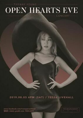 Tiffany Young Open Hearts Eve Concert Official Goods Photo Stand + Photocard New