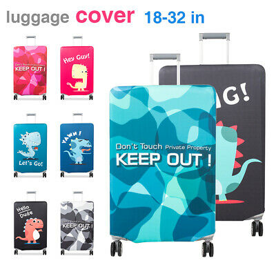 """Travel Luggage Suitcase Cover Protector Elastic Scratch Dustproof Cover 18""""-32"""""""