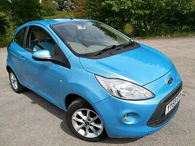 59 Reg Ford Ka Style In Blue With Only 37K Miles. M.o.t. Til 2020