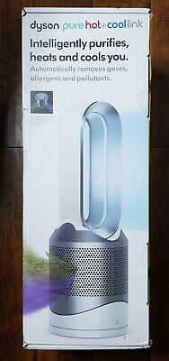 NEW Dyson Pure Hot + Cool Link HP02 Wi-Fi Enabled Air Purifier, White/Silver