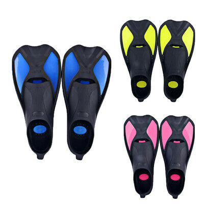 Adults Diving Swimming Short Fins Snorkeling Surfing Swim Flippers EU34-45