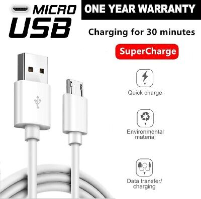 FAST CHARGING Android Charger Micro USB Cable For Samsung Galaxy S5 S6 S7 Note 5