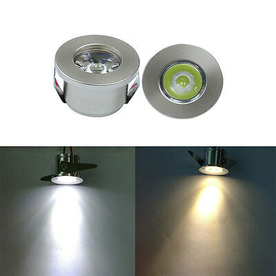 1/3W Mini Led Cabinet Downlight Recessed Spot light Driver Lamp Ceiling Mounted