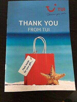 £100 Holiday Voucher Summer 2020 Holiday TUI, First Choice, Marella Cruises