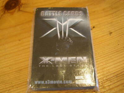 x-men battle cards The last stand - sealed pack- 18 cards