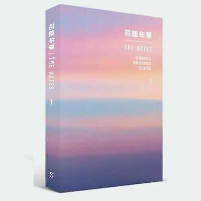 BTS Bangtan Boys 花樣年華 The NOTES 1 [SPANISH ver.] Book + Free gift (Photo Card)