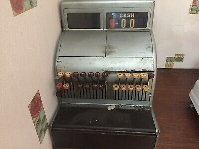 Antique Vintage 1960s National Cash Register