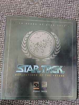 Star Trek Reflections Of The future phase three trading card binder