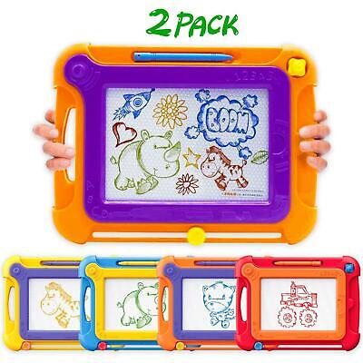 Learning Toy For Kids 2-6 Years Old Girls Boys Gift For Children Drawing - 2Pack