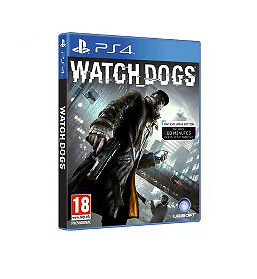 Watch Dogs - Watchdogs for Playstation 4 PS4 - Excellent - With Instructions