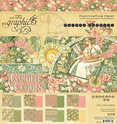 Graphic 45 Little Women Paper Crafting 8 x 8  Paper Pad