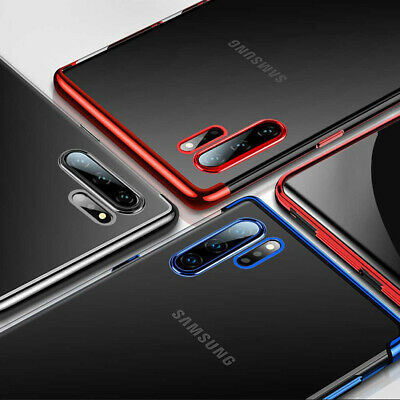 Clear Case For Samsung Galaxy Note 10 Plus 5G Luxury Shockproof Silicone Cover